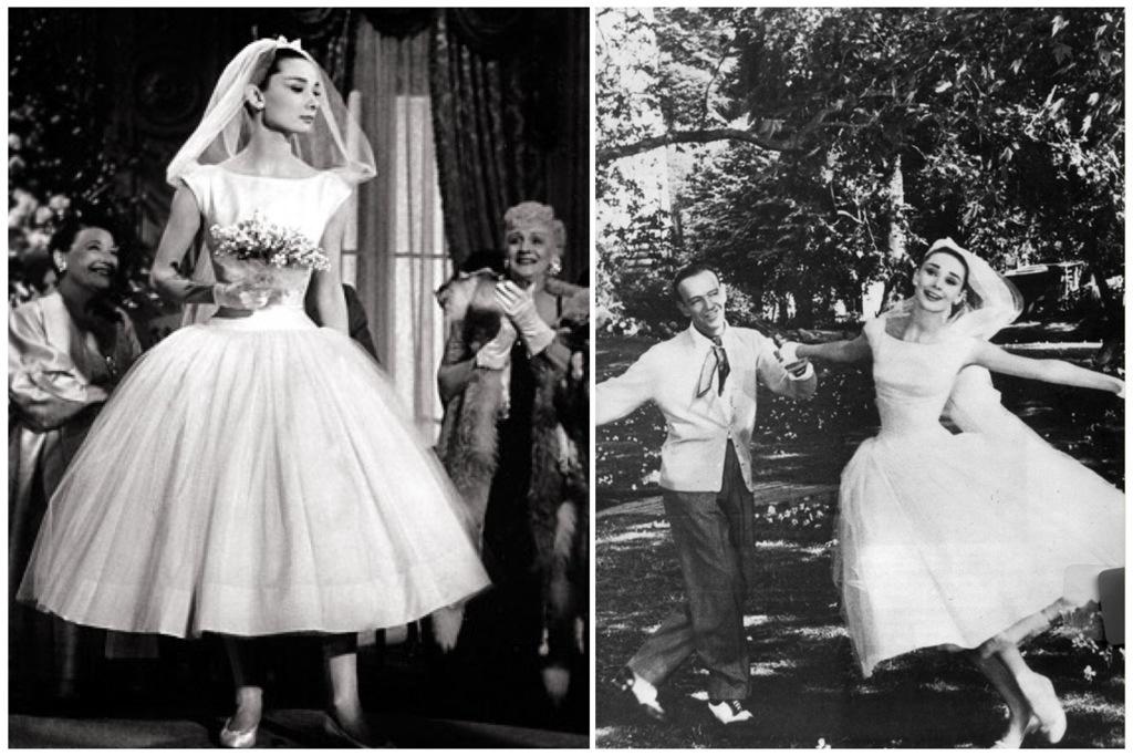 Funny Face movie wedding dresses