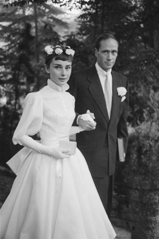 Audrey Hepburn and her husband