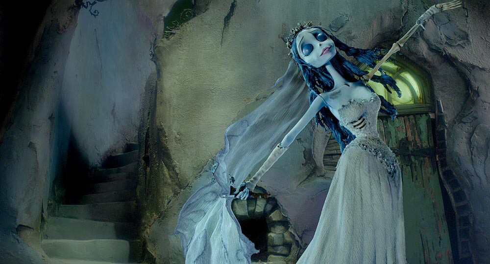 scene from 'Tim Burton's Corpse Bride', corpse bride dancing