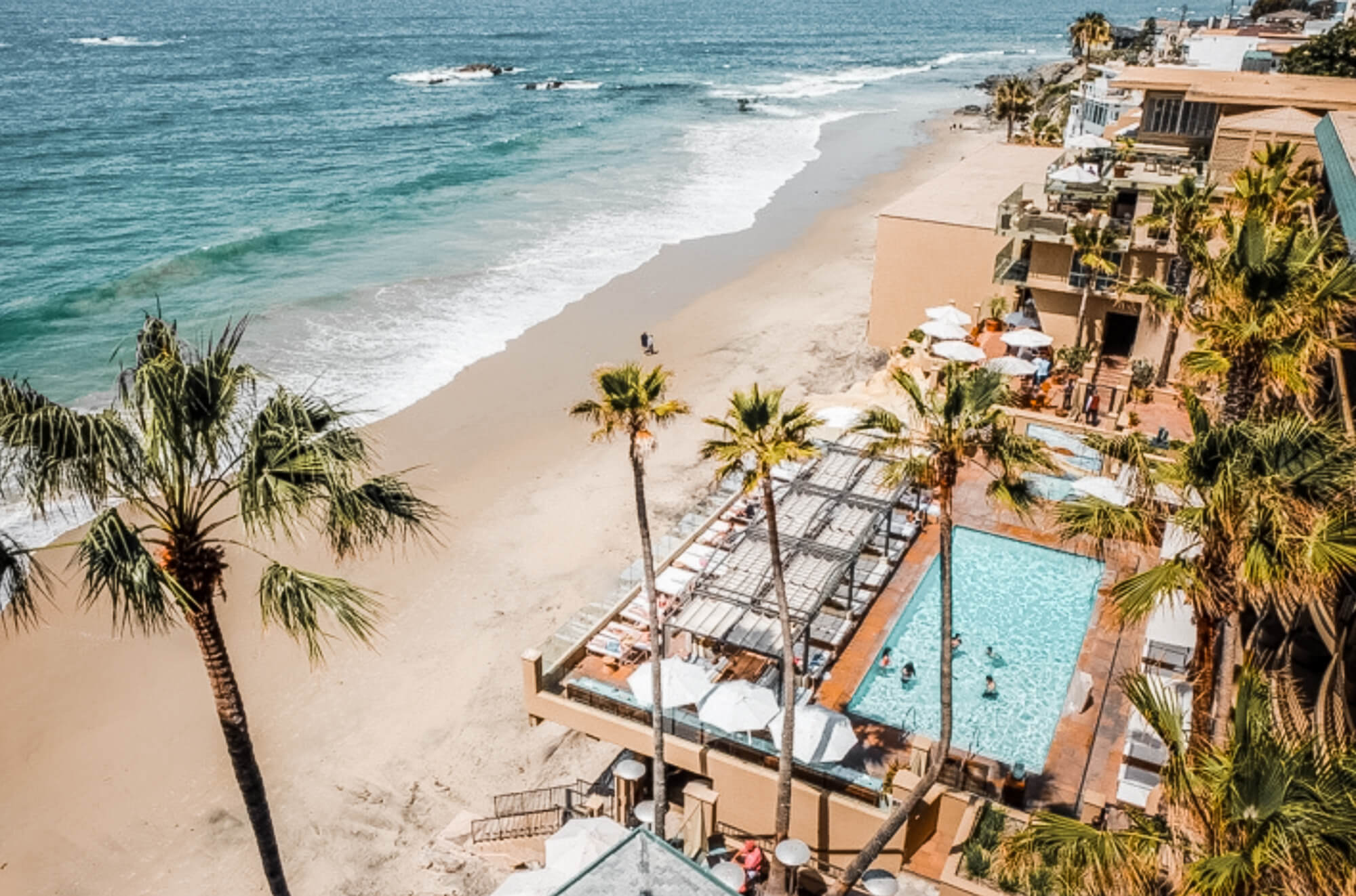Oceanfront view Surf and Sand Resort Laguna Beach
