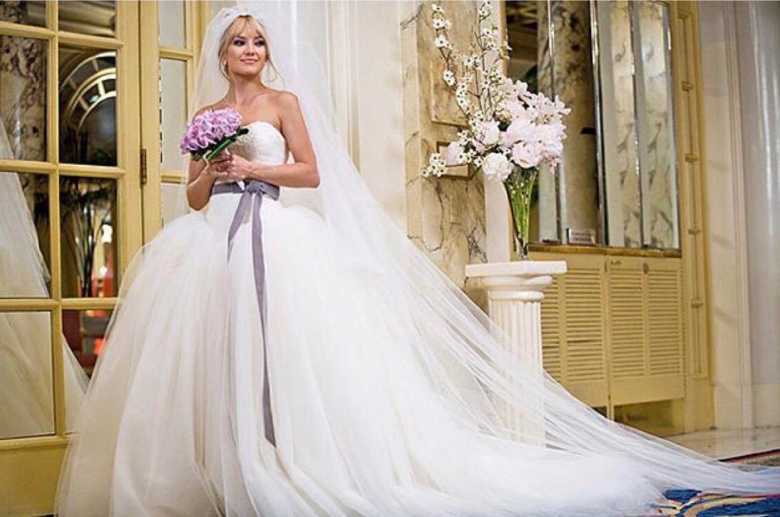 Bride Wars movie wedding dress