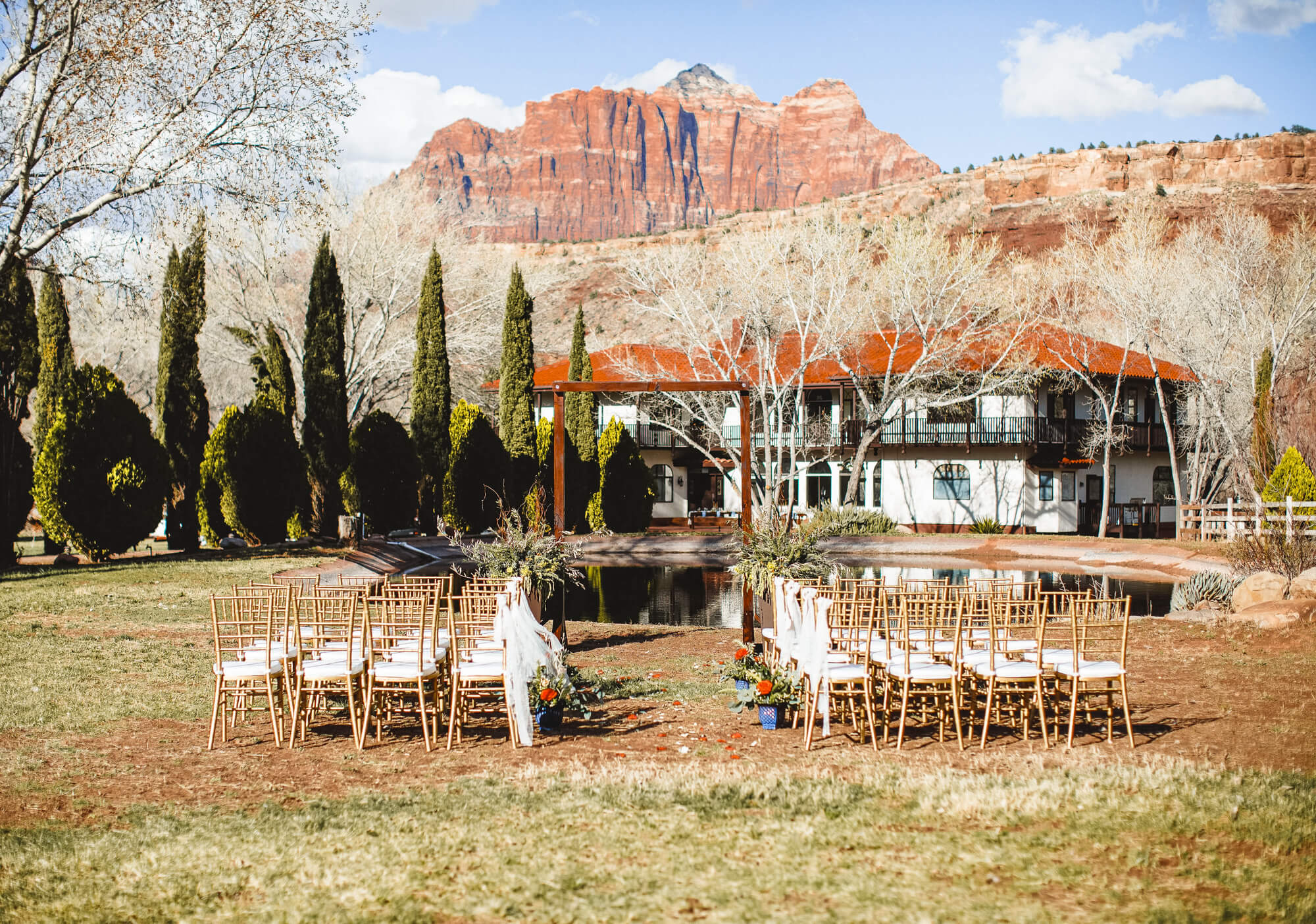 Zion Red Rock lodging